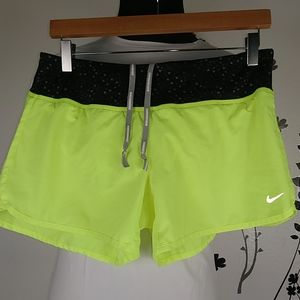 Nike dri fit women's shorts size M.